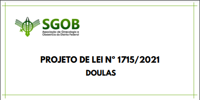 PROJETO DE LEI Nº 1715/2021 DOULAS